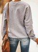 Gray Cotton-Blend Shirts & Tops