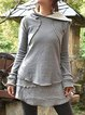 Cotton Cashmere Casual Long-sleeved Hoodie