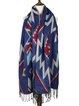 Dark_Blue Casual Scarves & Shawls