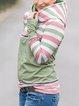 Green Shift Casual Hoodie Sweatshirt