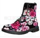 As Picture Printed Casual Winter Pu Boots