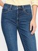 Blue Plain Casual Pants