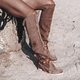 Date Faux Suede Winter Boots