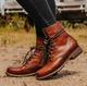 Daily All Season Flat Heel Boots