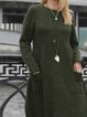 Green Shift Casual Dresses