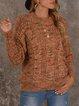 Vintage Cotton-Blend Sweater