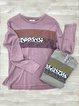 Leopard Cotton-Blend Long Sleeve Shirts & Tops