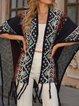 Blue Tribal Vintage Shift Sweater