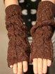 Coffee Vintage Gloves & Mittens