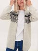 Knitted Woolen Casual  Hooded Zip Jacket Sweater