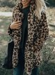 Leopard Casual Outerwear
