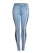 New fashion fringed slim-fit jeans slimming buttocks pants jeans women