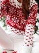 Shift Christmas Snowman Casual Long Sleeve Sweater