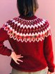 Christmas Ugly Chunky Knit Sweater