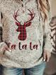 Plus size Christmas Casual Sweatshirt