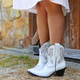Leopard Pu Winter Printed Daily Boots