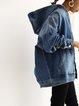 Denim Long Sleeve Plain Outerwear