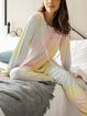 Yellow Holiday Paneled Cotton-Blend Suits