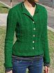 Green Shift Vintage Sweater