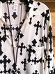 Apricot Shift Long Sleeve Shirt Collar Shirts & Tops