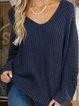Blue Vintage Shift Sweater