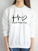 Casual Letter Shirts & Tops