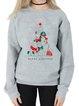 Casual Christmas Snowman Shift Shirts & Tops
