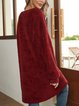 Red Holiday Paneled Shirts & Tops