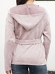 Pink Casual Cotton-Blend Outerwear