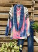 Multicolor Casual Shift Shirts & Tops