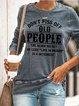 Don't Piss Off Old People   Women's long sleeve sweatshirt