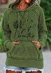 Green Shift Long Sleeve Sweatshirt