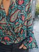 Multicolor Tribal Casual Shirts & Tops