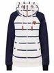 Blue Stripe Stripes Long Sleeve Hoodie Outerwear