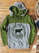 Long Sleeve Animal Sweatshirt