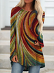 Raglan Sleeve Knitted Shirts & Tops