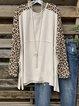Apricot Printed Casual Long Sleeve Shirts & Tops