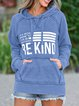 BE ANYTHING BE KIND GRAPHIC HOODIE