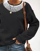 RBG Ruth Bader Ginsburg Necklace sweatshirt