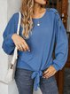 Casual Cotton-Blend Shirts & Tops