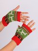 New Knit Gloves Fingerless Gloves