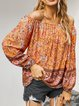 Long Sleeve Cotton-Blend Holiday Shirts & Tops