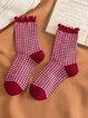 Middle Ear-Rimmed Children's Socks