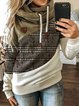 Color-Block Long Sleeve Sweatshirt