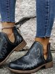 Low Heel Casual Boots