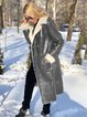 Winter Women With Velvet Leather jackets  Coats