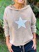 Casual Long Sleeve Sweatshirt