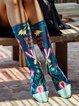 Unisex Breathable Floral Underwear & Socks