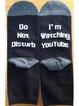 Breathable Casual Unisex Letter Underwear & Socks