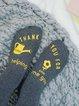Breathable Statement Unisex Underwear & Socks